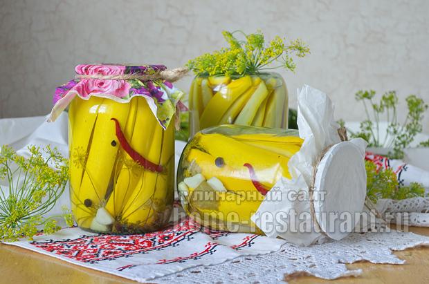 Кабачки на зиму - 285 рецептов лучших заготовок с пошаговыми фото