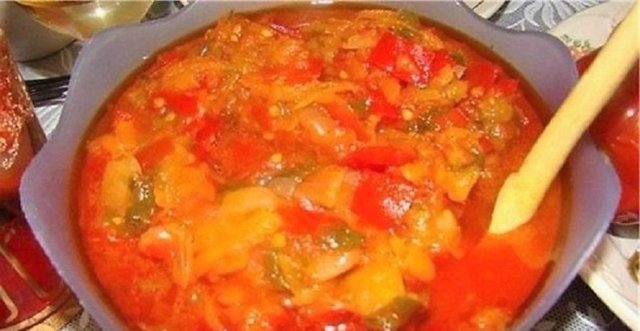 Помидоры с болгарским перцем через мясорубку на зиму - простой рецепт от автора пошагово