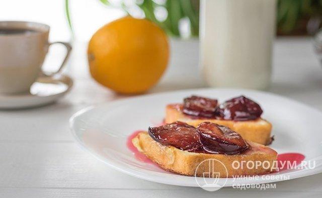 Варенье из сливы на зиму - рецепт приготовления с пошаговыми фото