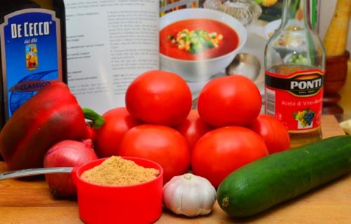 Гаспачо на зиму - простой пошаговый рецепт