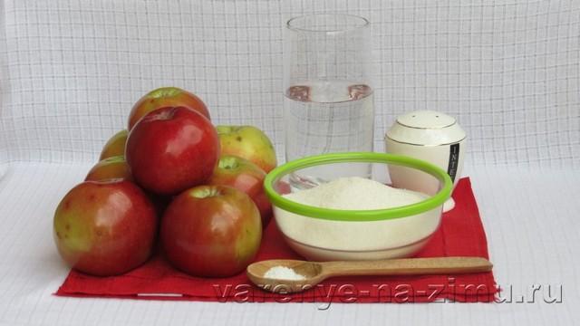 Прозрачное варенье из яблок дольками быстро на зиму - рецепт с пошаговыми фото