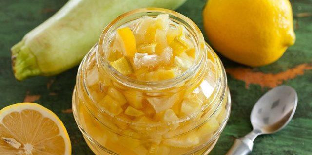 Варенье из кабачков и лимона на зиму - 5 самых вкусных рецептов с фото пошагово