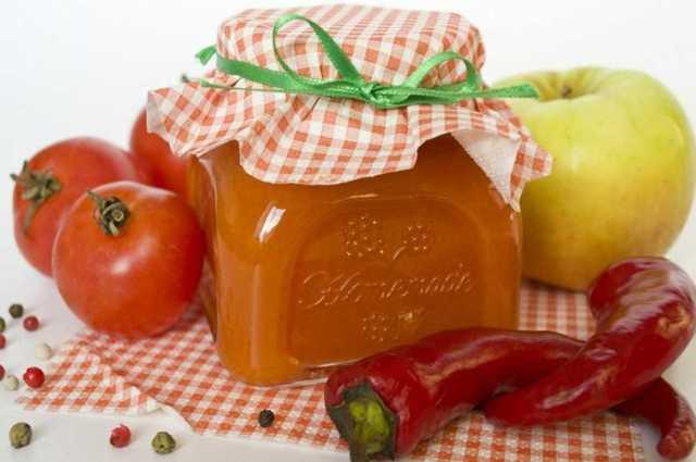 Кетчуп из помидоров с яблоками на зиму - 5 простых рецептов с фото пошагово