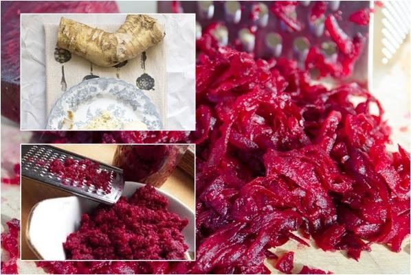 Свекла с хреном на зиму - рецепт приготовления с пошаговыми фото