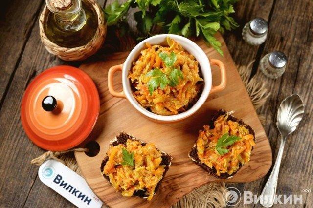 Кабачковая икра с помидорами на зиму - рецепт с пошаговыми фото