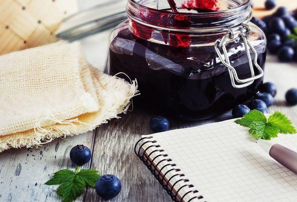 Джем из черники на зиму - пошаговый рецепт приготовления с фото