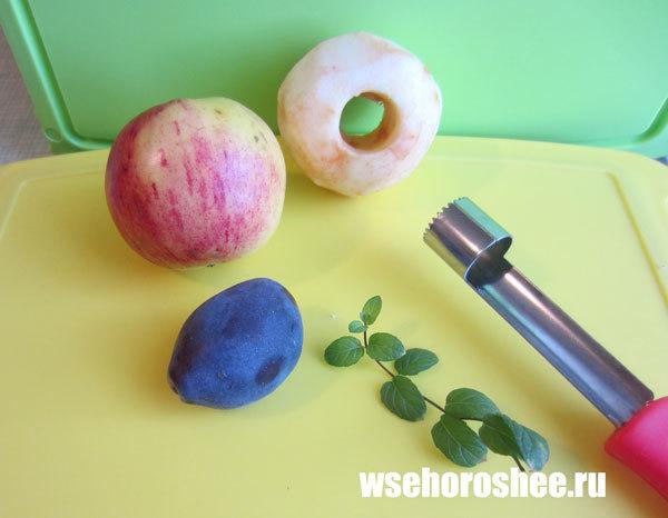 Яблочное пюре в мультиварке на зиму - простой пошаговый рецепт