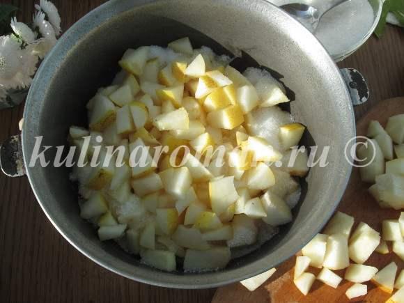 Повидло из груш через мясорубку на зиму - пошаговый рецепт с фото