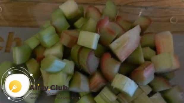 Компот из ревеня на зиму - рецепт приготовления с пошаговыми фото