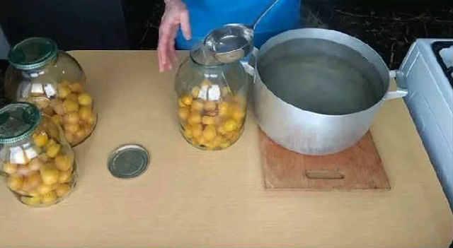 Компот из алычи не на зиму - рецепт приготовления с пошаговыми фото