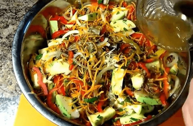 Жареные кабачки без стерилизации на зиму - рецепт приготовления с пошаговыми фото