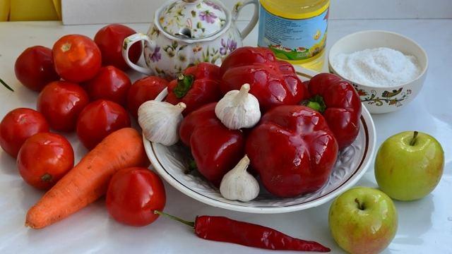 Аджика без уксуса на зиму - рецепт приготовления с пошаговыми фото