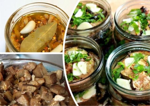 Баклажаны как грибы на зиму - 5 лучших рецептов с фото пошагово