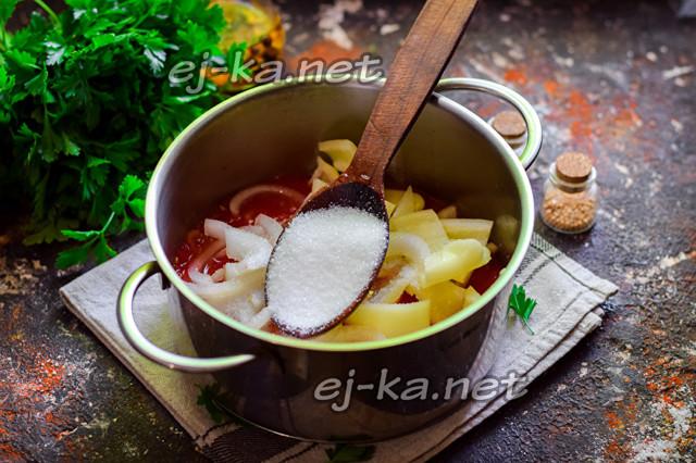 Лечо через мясорубкуна зиму - простой пошаговый рецепт