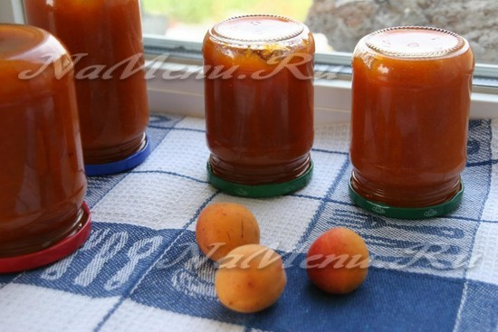 Джем из абрикосов на зиму - рецепт с пошаговыми фото