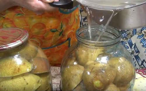 Компот из груш с корицей на 3-х литровую банку на зиму - простой рецепт от автора
