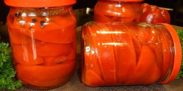 Перец маринованный на зиму - 5 рецептов пальчики оближешь с фото пошагово