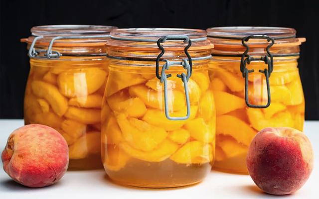 Компот из персиков с лимоном на зиму - пошаговый рецепт с фото