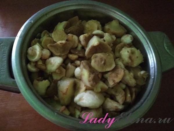 Жареные маслята на зиму - простой пошаговый рецепт