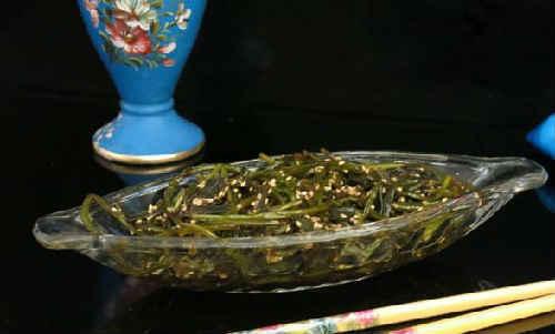 Стрелки чеснока по-корейски на зиму - очень вкусный пошаговый рецепт