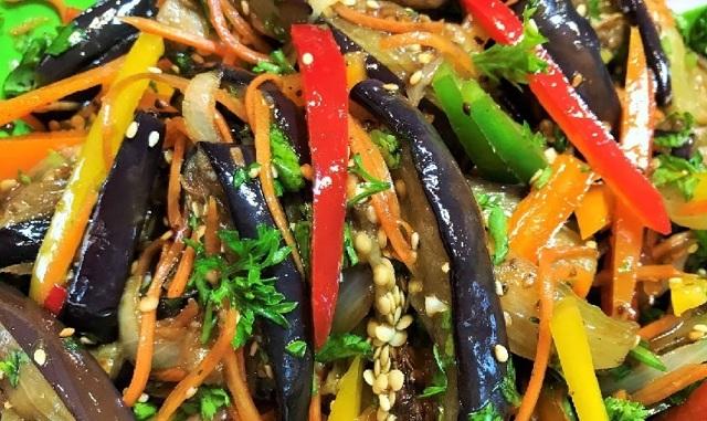 Острые баклажаны на зиму - рецепт приготовления с пошаговыми фото
