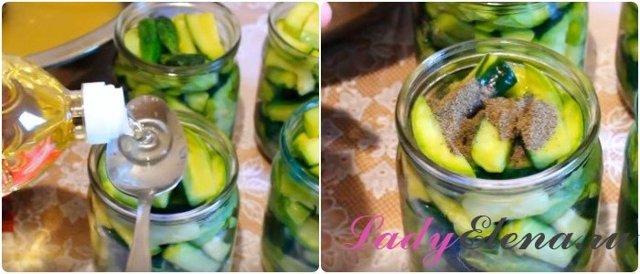 Салат из кабачков и огурцов на зиму - 8 рецептов пальчики оближешь с пошаговыми фото