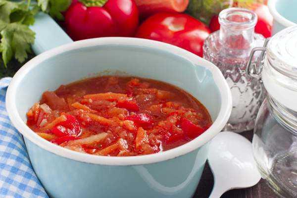 Салат Анкл бенс с рисом на зиму - рецепт с пошаговыми фото
