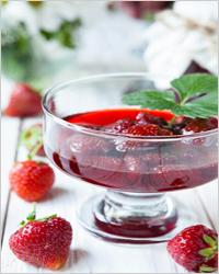 Клубника в собственном соку без сахара на зиму - вкусный рецепт с пошаговыми фото