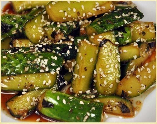 Огурцы по-корейски с приправой чим-чим на зиму - рецепт приготовления с пошаговыми фото