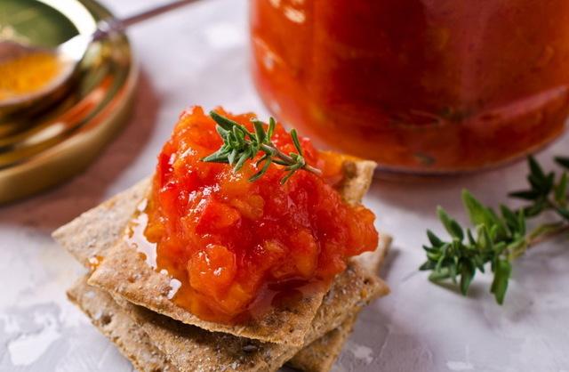 Аджика из кабачков с помидорами пальчики оближешь на зиму - рецепт с пошаговыми фото