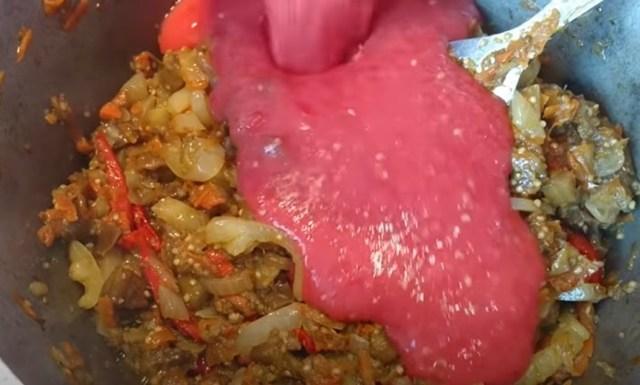 Икра из баклажанов без стерилизации на зиму - рецепт с пошаговыми фото
