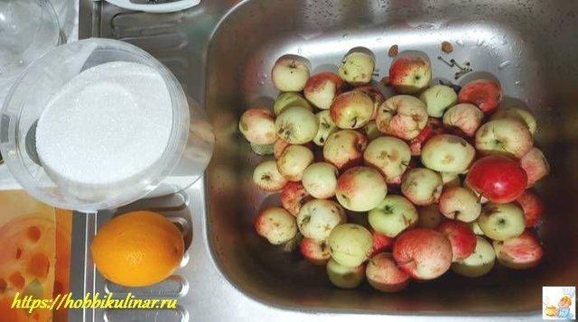 Компот из яблок с апельсином на зиму - рецепт с пошаговыми фото