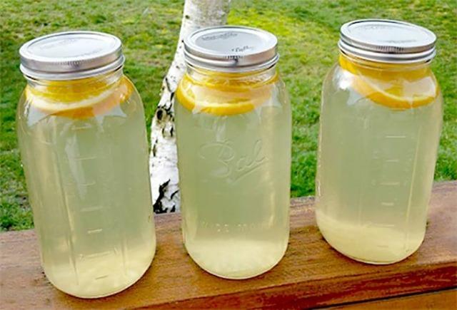 Березовый сок с лимонной кислотой на 3-х литровую банку на зиму - рецепт в домашних условиях в фото пошагово