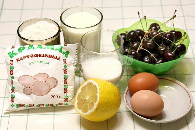 Вишневый джем с крахмалом на зиму - рецепт с пошаговыми фото