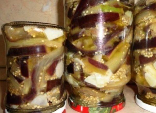 Баклажаны без помидоров на зиму - рецепт с пошаговыми фото