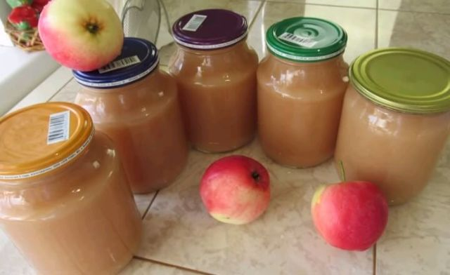 Яблочное пюре с лимонной кислотой на зиму - простой пошаговый рецепт