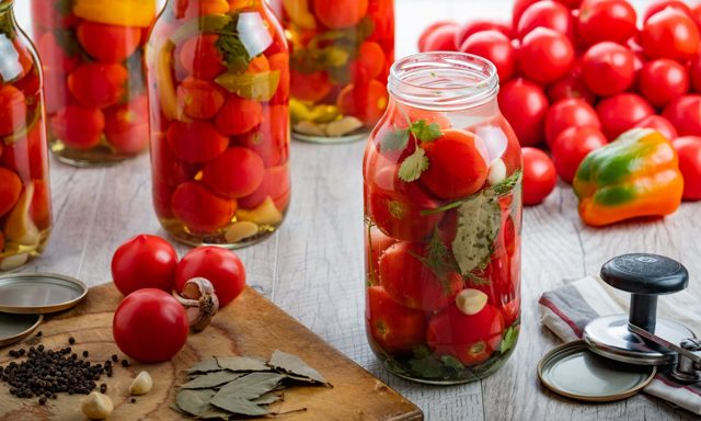 Жареные помидоры без стерилизации на зиму - простой рецепт от автора пошагово