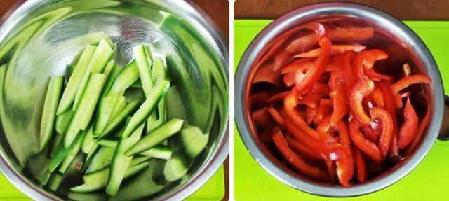 Салат на зиму из огурцов и моркови по-корейски - 5 рецептов с фото пошагово