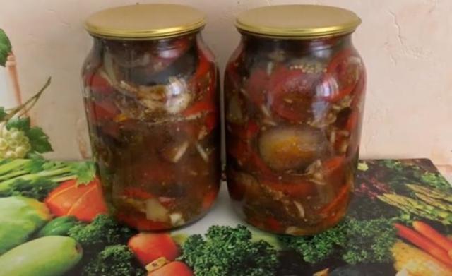 Баклажаны на зиму с приправой для шашлыка - рецепт приготовления с пошаговыми фото
