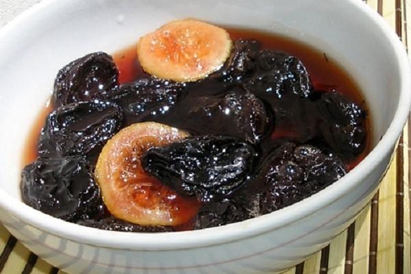 Компот из чернослива на зиму - рецепт с пошаговыми фото