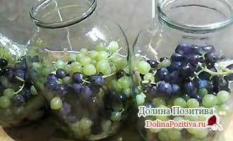 Компот из груши, яблок и винограда на зиму на 3-х литровую банку - простой рецепт от автора