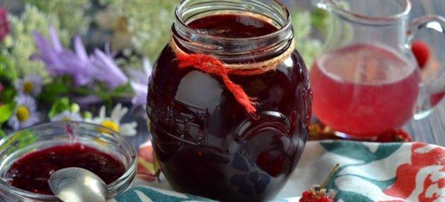 Желе из малины с желатином без косточек на зиму - пошаговый рецепт с фото