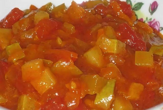 Салат Аленка с томатной пастой на зиму - рецепт приготовления с пошаговыми фото
