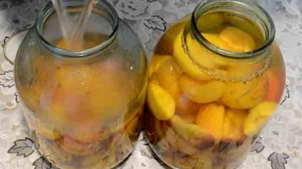 Компот из абрикосов без стерилизации с лимонной кислотой на зиму - пошаговый рецепт с фото